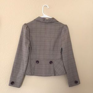 Amy Byer Jackets & Coats - BROWN BLAZER